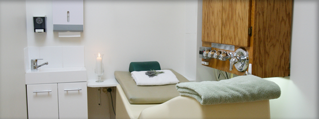 Colon Hydrotherapy room at WellandTruly