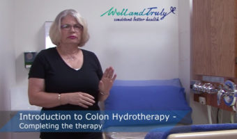 Completing Colon Hydrotherapy